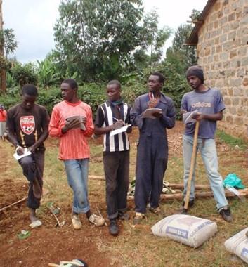 Moving Mountains Kenya - Embu Rescue Centre Youth Group