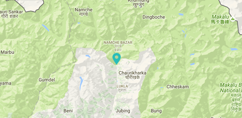 Moving Mountains Nepal Eco-friendly Cooking Stoves, Bumburi Map .png