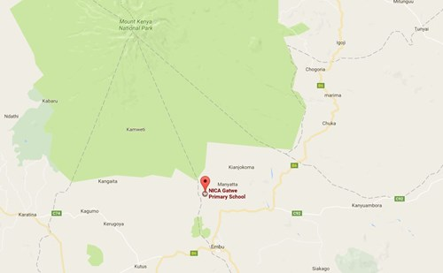 Gatwe Primary School - Map (1)