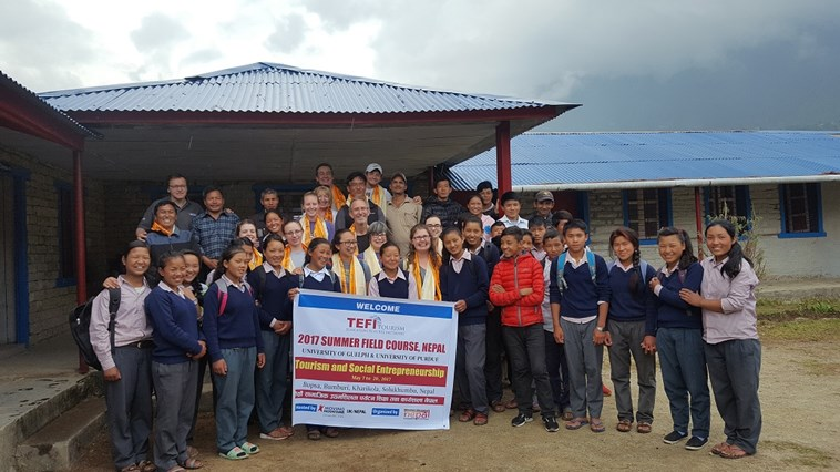 TEFI initiative at Khari Khola School